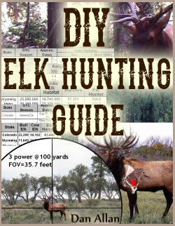 bdc scope reticle with elk in