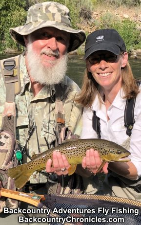 provo river brown trout with backcountry adventures fly fishing-topham-th