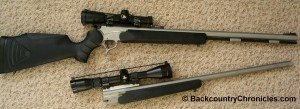 Thompson Center Encore with Muzzleloader and 7mm Remington Magnum barrels