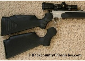thompson center encore with composite and flex tech stock