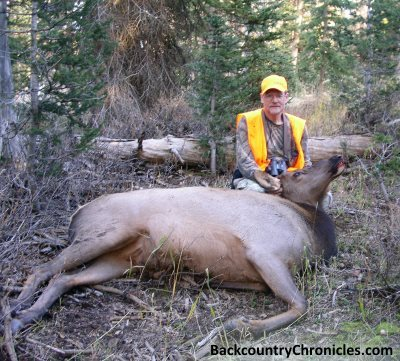 cow elk harvested 2014