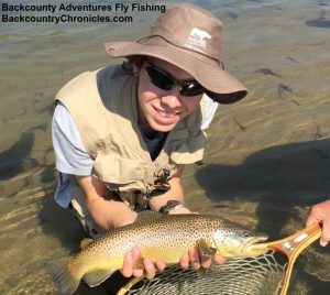 22 inch brown trout utah Aug-3-17