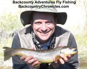 Big brown trout Utah Rod May-2017