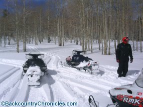 backcountry utah snowmobiling