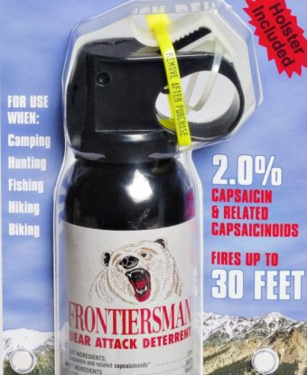 best bear spray pepper spray