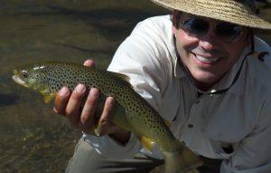Jeff's big utah brown trout