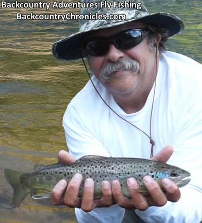 Ren catches brown trout provo river utah
