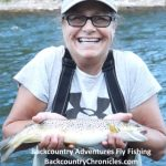 Virginia catches big provo river brown trout