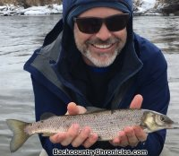 provo river whitefish with backcountrychronicles fly fishing