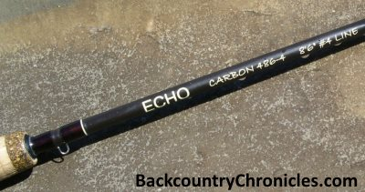 echo carbon fly rod logo