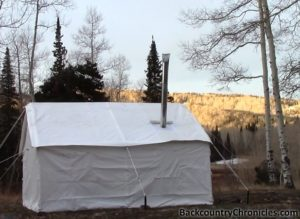 A Second Wall Tent & A Canvas Wall Tent - Camping Without Hauling a Trailer