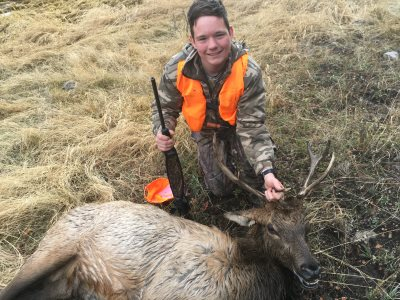 shane's first diy elk hunt