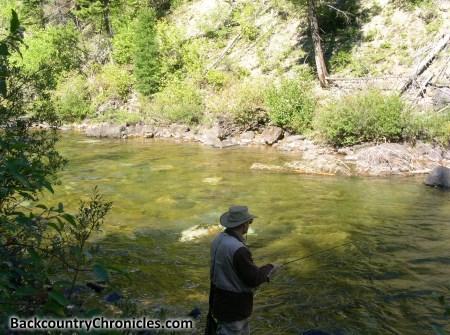 fly fishing north fork blackfoot river