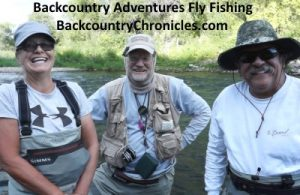 another fun day on the water with backcountry adventures fly fishing