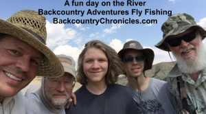 fun day on the river with backcountry adventures fly fishing