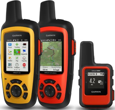 garmin inreach satellite messinger models