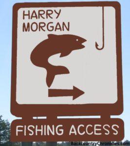 harry morgan blackfoot river fishing access and camp area