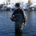 jim oneal winter fly fishing waders