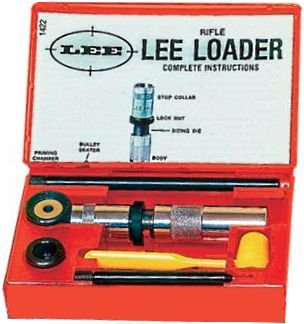 lee loader reloading rifle kits