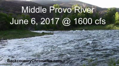 Provo river fishing report june 7 2017 for Provo river fishing report