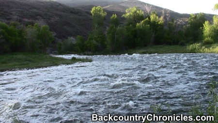 middle provo river flood stage 1600 cfs