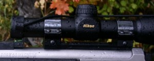 nikon 1x rifle scope