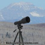 nikon spotting scope backcountry hunt