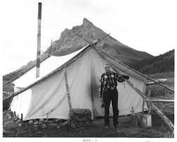 old style wall tent with ridge pole  sc 1 st  Backcountry Chronicles : prospector tents - memphite.com