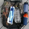A Personal Water Filter (Life Straw) Lightens the Load