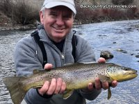 provo river brown trout with backcountrychronicles fly fishing