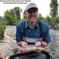 provo river brown trout with backcountry adventures fly fishing