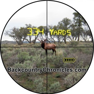 elk in rangefinder