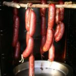 smoked elk sausage links