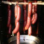 smoked elk sausage links