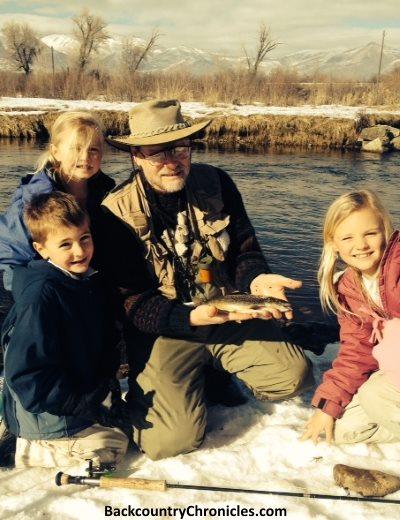 take kids fishing