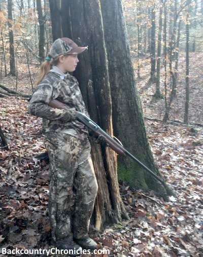 teenage girls are the fastest growing hunter population
