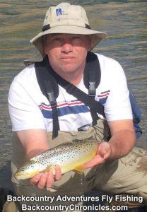 big utah brown trout april 2018